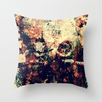 invader zim Throw Pillows featuring Invader by Hembree138