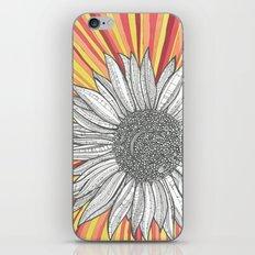 Sunflower Burst iPhone & iPod Skin