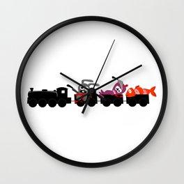 Sushi Train Express Wall Clock