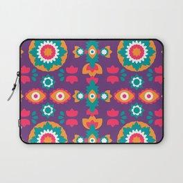 Colorful Bohemian Suzani Inspired Pattern Laptop Sleeve