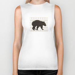 tritri bear Biker Tank
