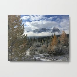 Fall in Canmore - Canada  Metal Print
