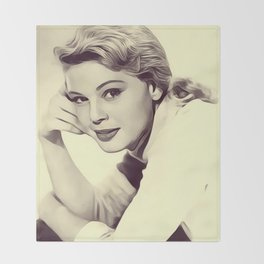 Betsy Palmer, Vintage Actress Throw Blanket