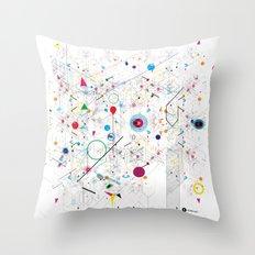 Virtual Chaos Throw Pillow