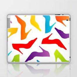 Colorful Womens heels Laptop & iPad Skin