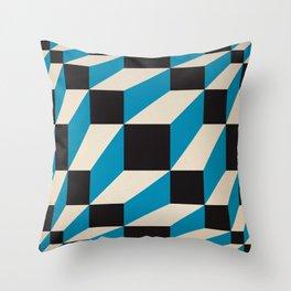 fuzzy gestalt 02 Throw Pillow