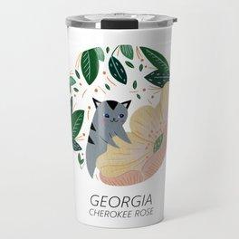 American Cats - Georgia Travel Mug