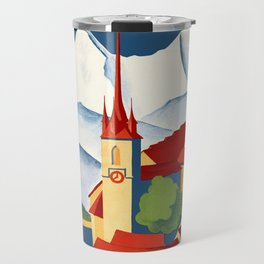 Vintage Bern Switzerland Travel Travel Mug