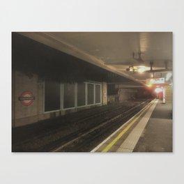 Oakwood Station - LDN Canvas Print