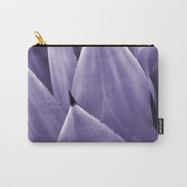 Ultra Violet Agave Vibes #4 #tropical #decor #art #society6 Carry-All Pouch