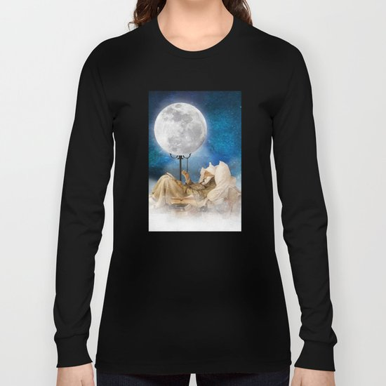 Good Night Moon Long Sleeve T-shirt