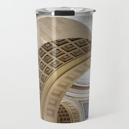 Wisconsin Capitol Building Arches And Angles Travel Mug