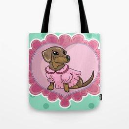 Daschund Cute GAL Tote Bag