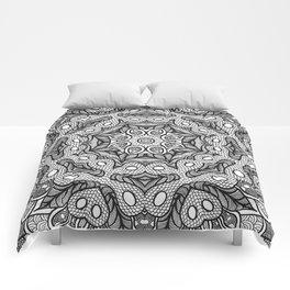 Doodle Mandala Comforters