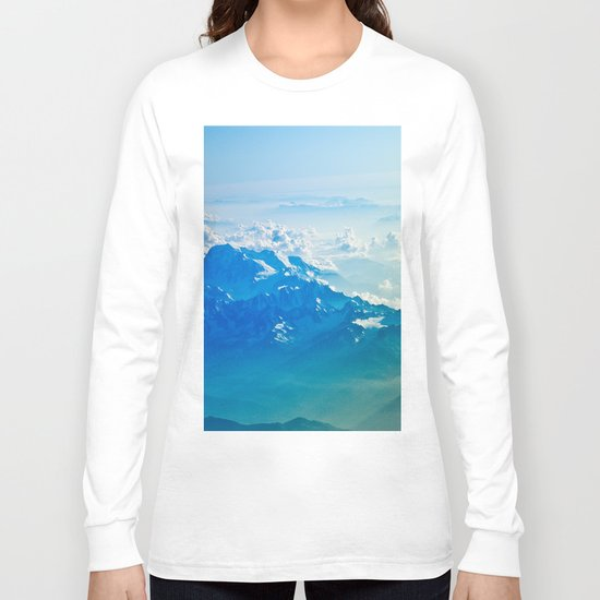 Clouds #society6 #buyart Long Sleeve T-shirt