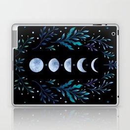 Moonlight Garden - Blue Laptop & iPad Skin