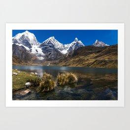 Huayhuash Cordillera - Peru Art Print