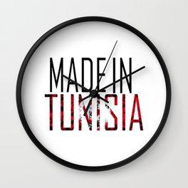 Made In Tunisia Wall Clock