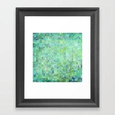 Moody Pixels Framed Art Print