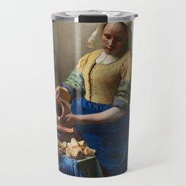 Vermeer - The Milkmaid Travel Mug