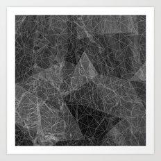 Ab Marble Layer Art Print