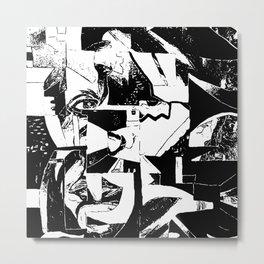 incomplete Metal Print
