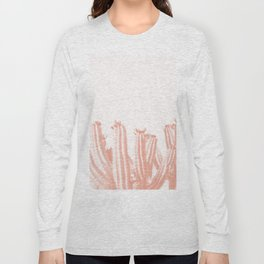 Pastelle Cactus Long Sleeve T-shirt