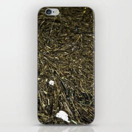 floating wood texture iPhone Skin