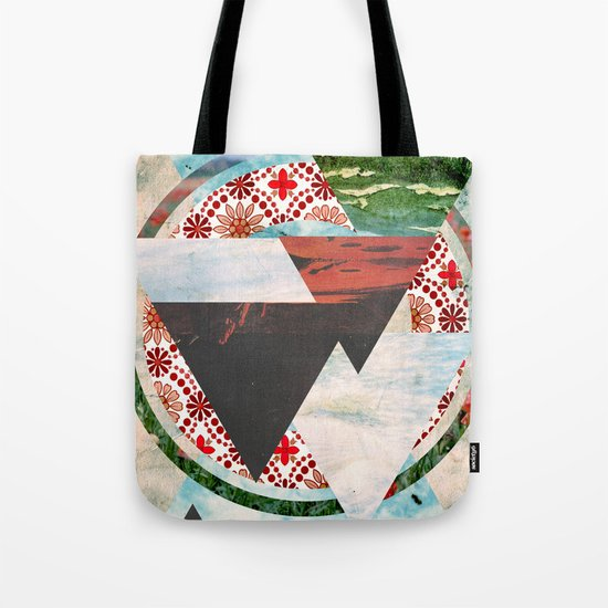 Experimental Abstraction Tote Bag