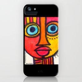 Vibrant Juju Mask #01 iPhone Case