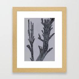 Living Things Framed Art Print