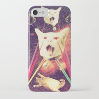 saga iPhone & iPod Cases featuring galactic Cats Saga 4 by Carolina Nino