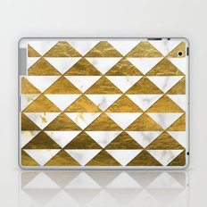 Marble and Gold Pattern #3 Laptop & iPad Skin