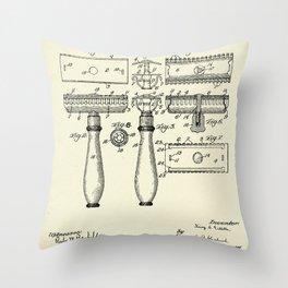 Razor-1904 Throw Pillow