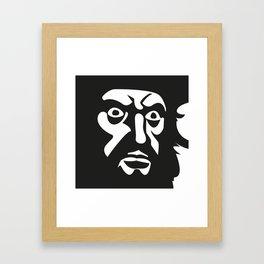 BLCKBRD Framed Art Print