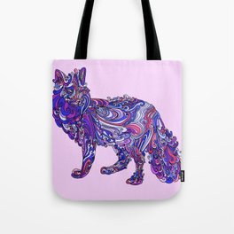 Fox by Night Tote Bag