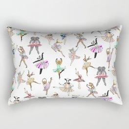 Animal Ballet Hipsters LV Rectangular Pillow