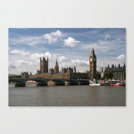 Houses of Parliament, London, UK Canvas Print