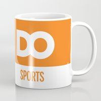 sports Mugs featuring DO Sports by The Daily Orange