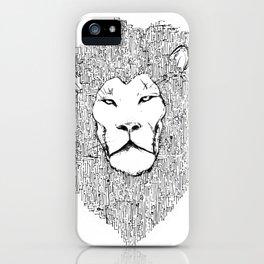Lion 2.0 iPhone Case