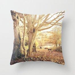 Hampstead Heath Wanderings Throw Pillow