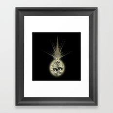sunlight on Mars Framed Art Print