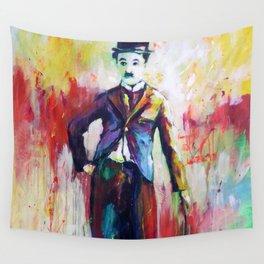Charlie Chaplin Wall Tapestry
