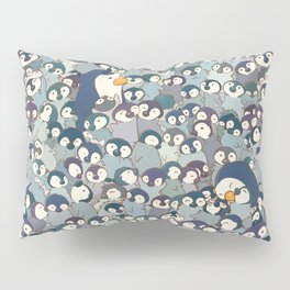 Baby Penguin Pattern Pillow Sham