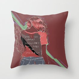 Don't You Know? Throw Pillow