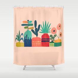 Plant mania Shower Curtain