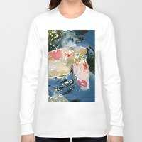 koi Long Sleeve T-shirts featuring Koi by Regan's World