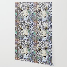 Never Resting - Leopard by Maureen Donovan Wallpaper