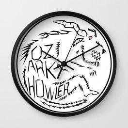 Ozark Howler Wall Clock