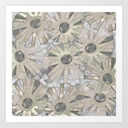 Linen Edward Coffee Art Print